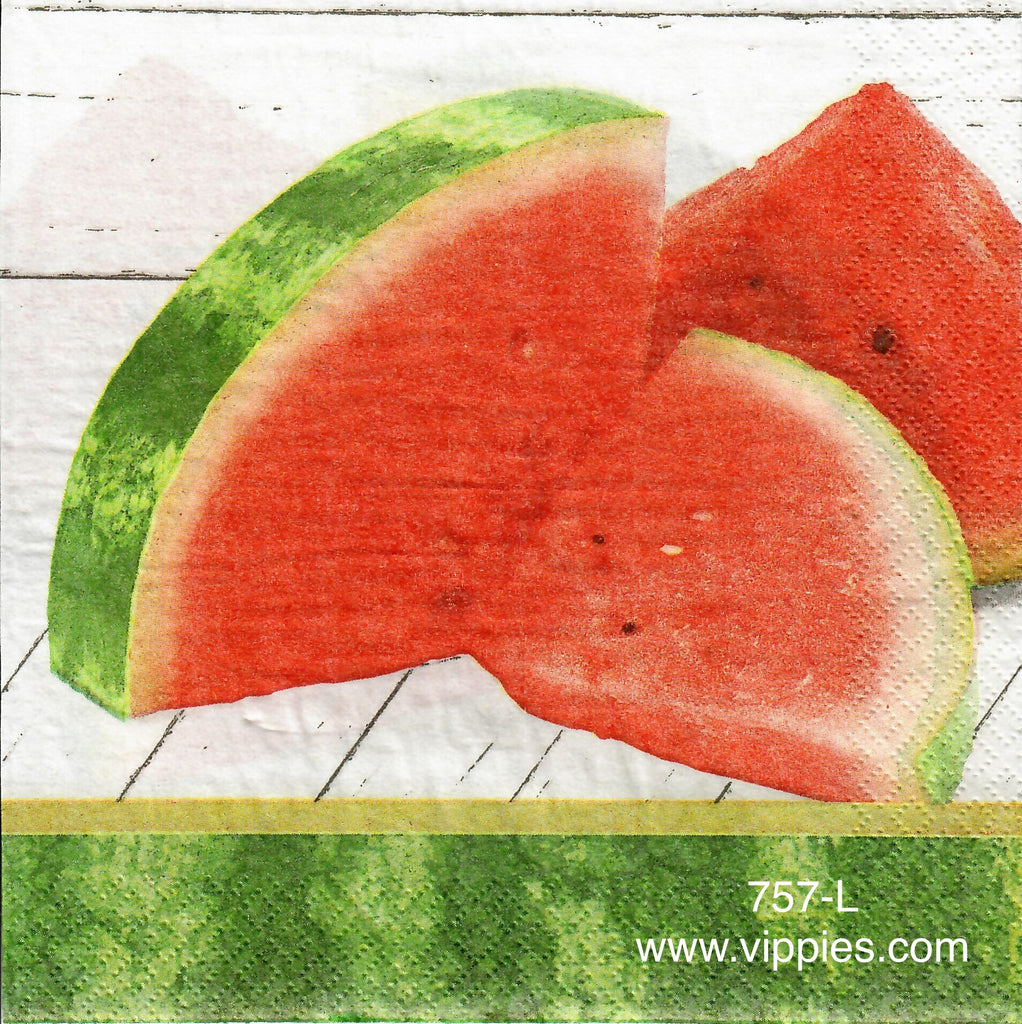 FD-757 Watermelon Napkin for Decoupage