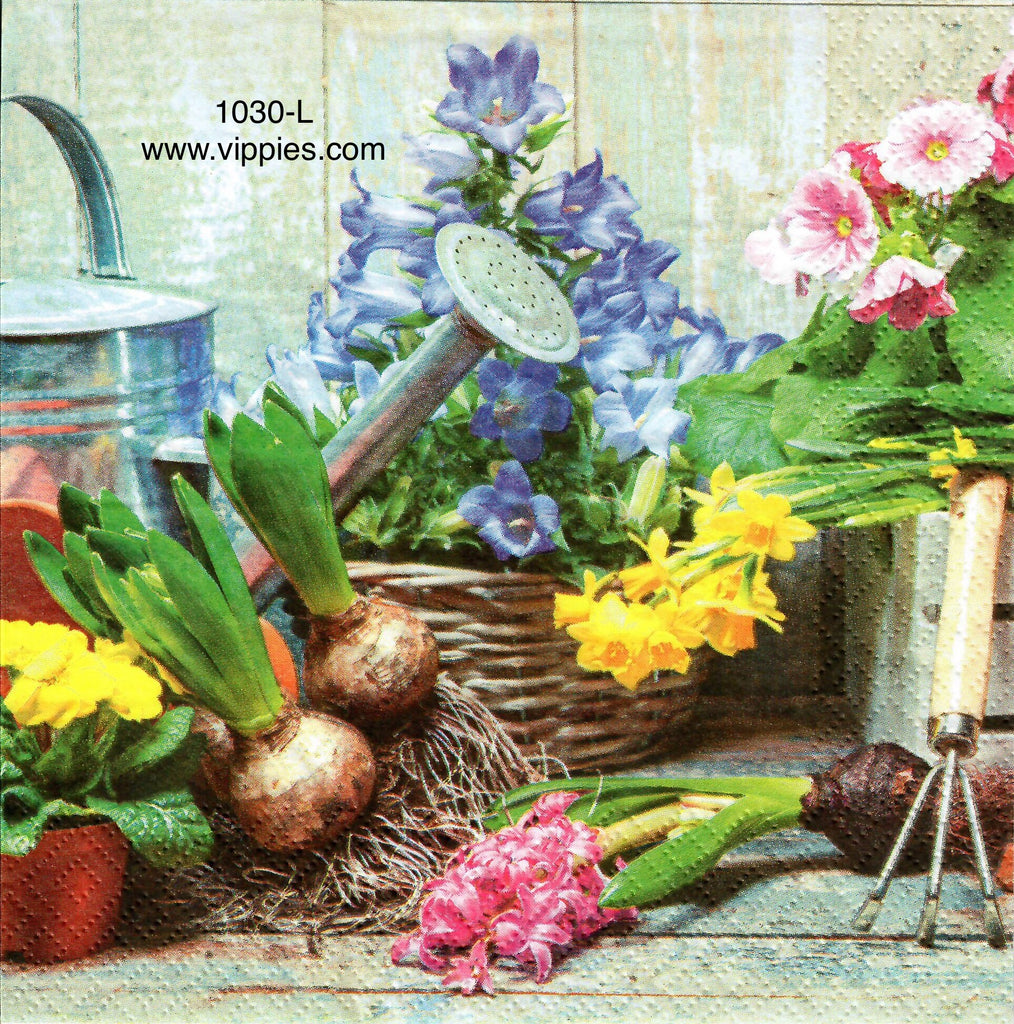 FL-1030 Flower Bulbs Napkin for Decoupage