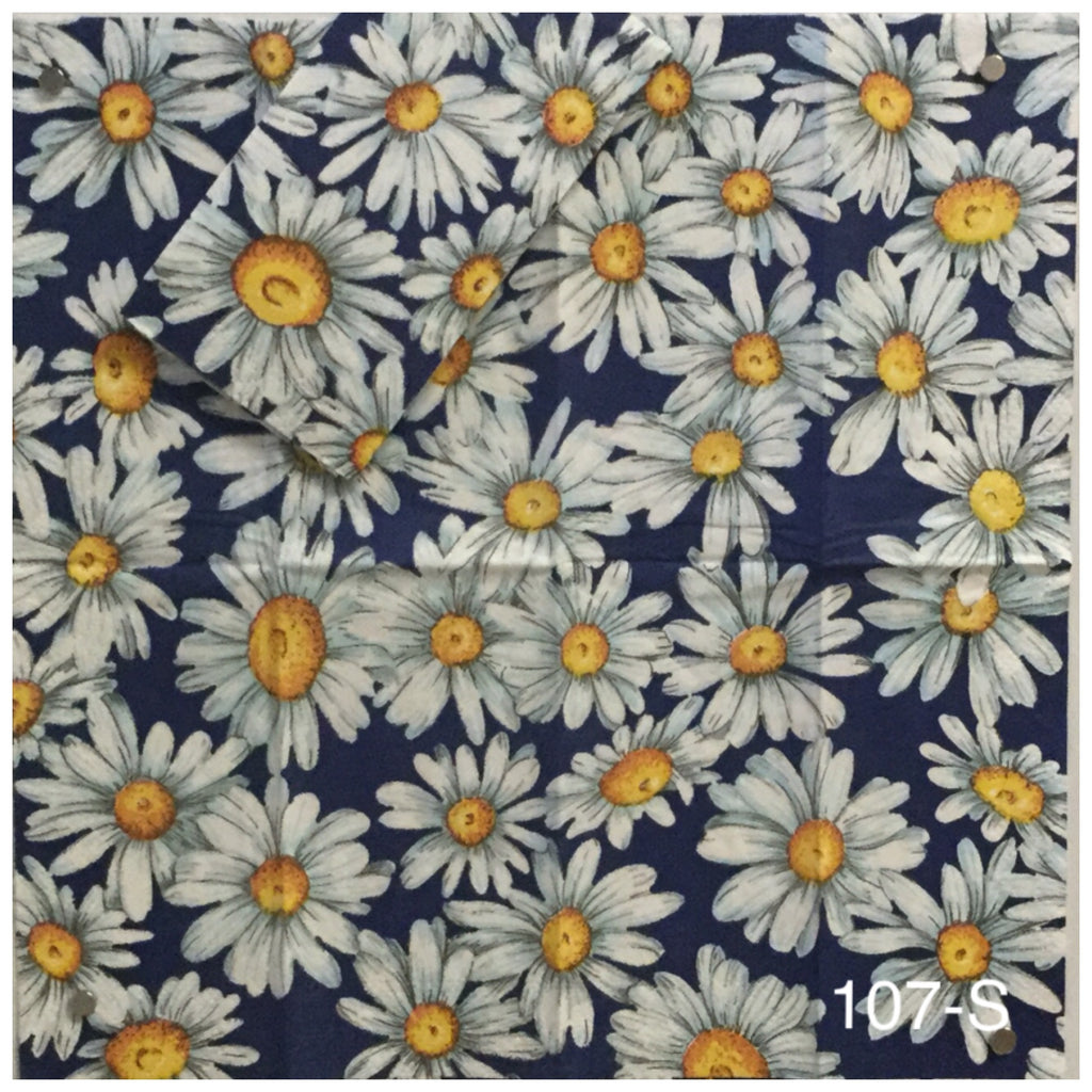FL-107 Daisies Napkin for Decoupage