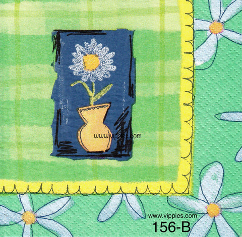 FL-156 Delicate Daisy Napkin for Decoupage