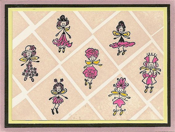 Lily Rubber Stamp 2376D