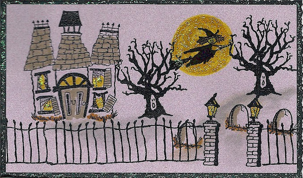 Lamp Post Rubber Stamp 7410B
