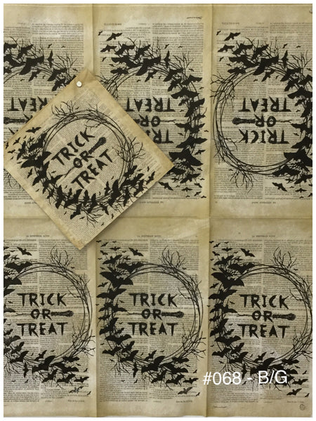HWN-068 Trick or Treat Napkin for Decoupage