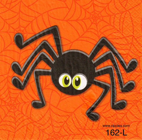 HWN-162 Large Spider Napkin for Decoupage