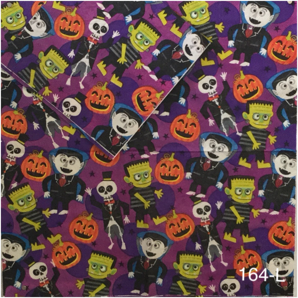 HWN-164 Monsters Napkin for Decoupage