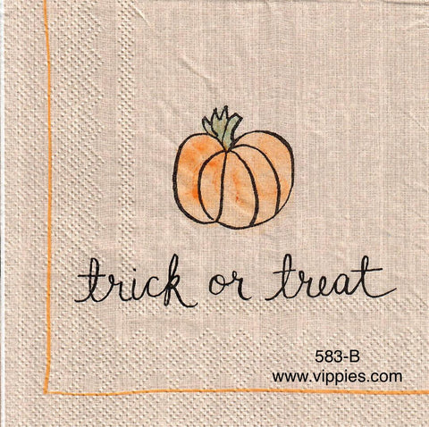 HWN-583 Trick or Treat 2 Napkin for Decoupage