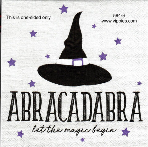HWN-584 Abracadabra Napkin for Decoupage
