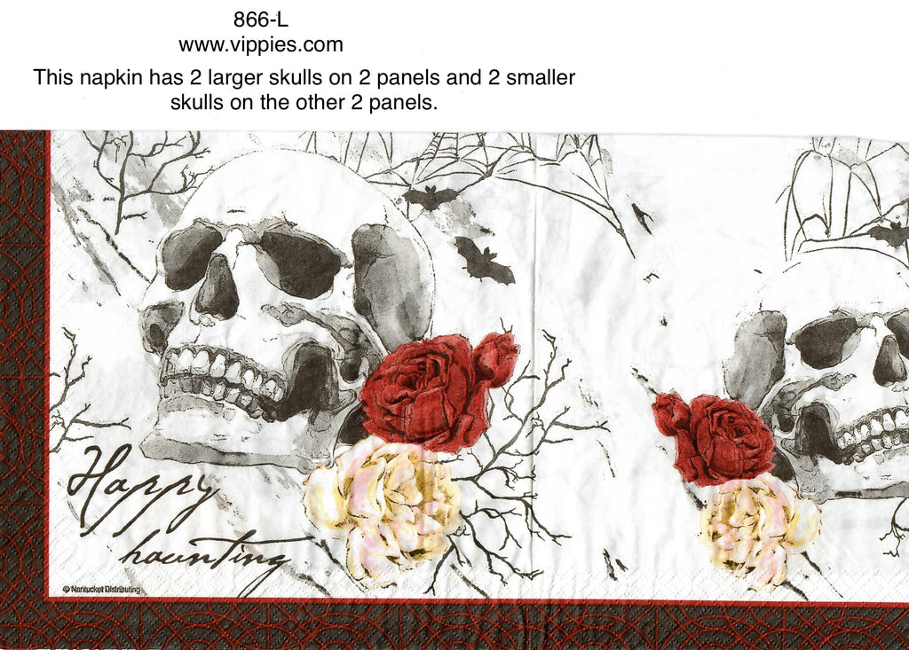 HWN-866 Divine Gothic Napkin for Decoupage