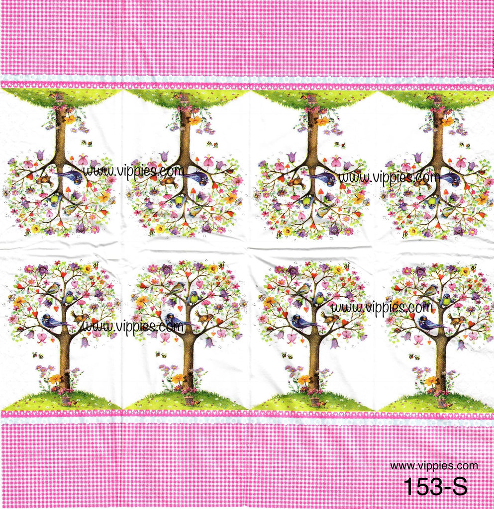 LVY-153 Love Tree Sniffer Napkin for Decoupage