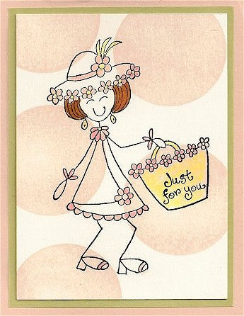 Tiny For You Rubber Stamp 2354A