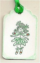 Mistletoe Fairy Rubber Stamp 2416D