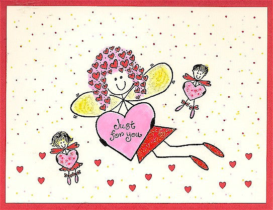 Ms. Val N Tine Rubber Stamp 4002N
