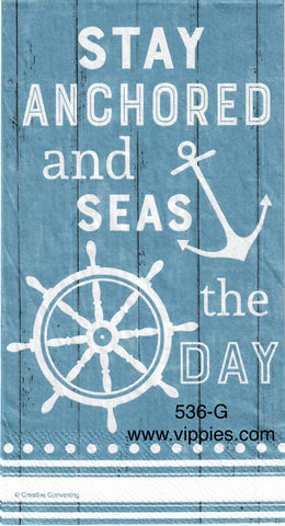 NS-536 Stay Anchored Guest Napkin for Decoupage