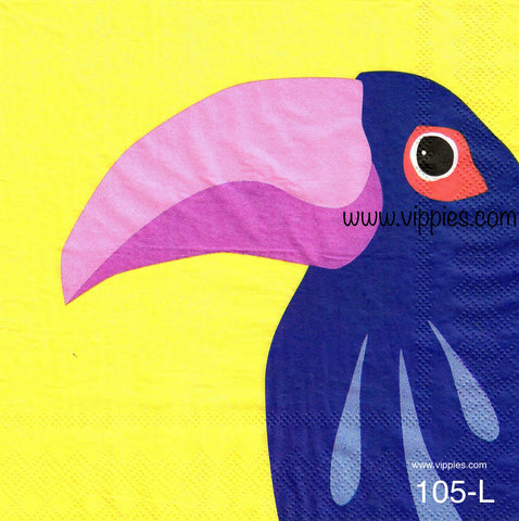 TRP-105 Toucan Napkin for Decoupage