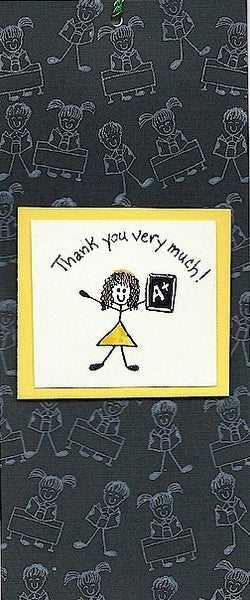Thank You Very Much Rubber Stamp 2383C
