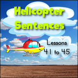 Kindergarten Helicopter Sentences
