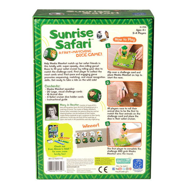 Sunrise Safari Game - McRuffy Press