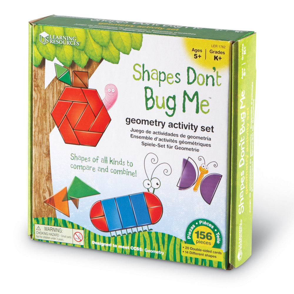 Shapes Don't Bug Me Geometry Activity Set - McRuffy Press