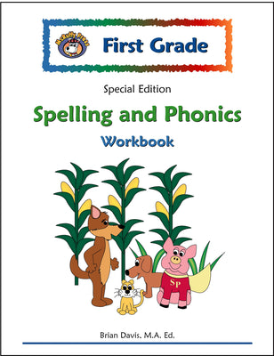 First Grade SE Spelling and Phonics Workbook - McRuffy Press