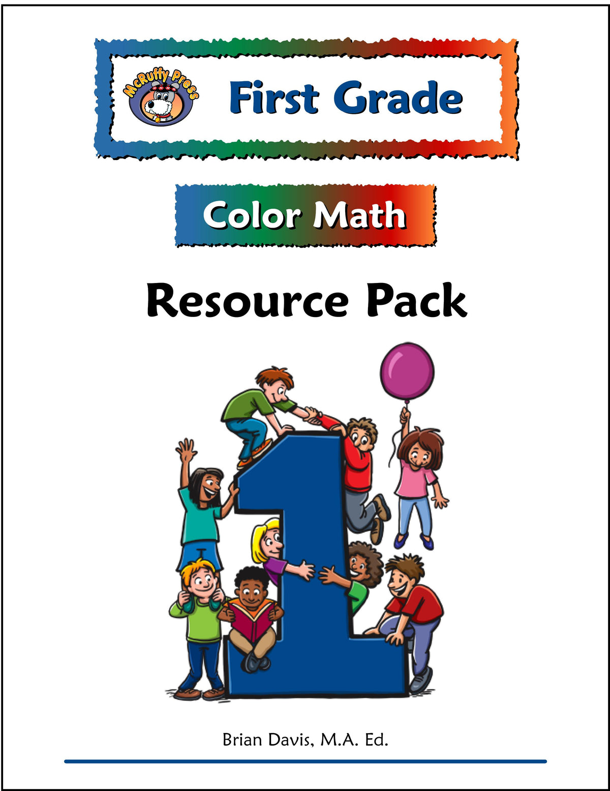 Worksheet First Grade first grade color math resource pack mcruffy press pack