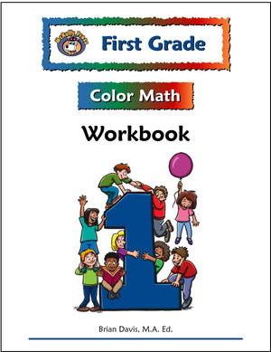 First Grade Color Math Workbook - McRuffy Press