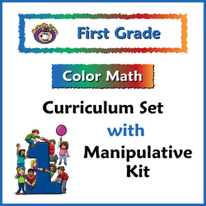First Grade Color Math Curriculum with Manipulative Kit - McRuffy Press