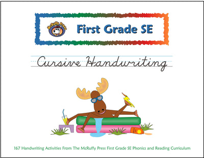 First Grade SE Cursive Handwriting Book - McRuffy Press