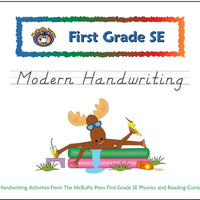 First Grade SE Modern Handwriting Book - McRuffy Press