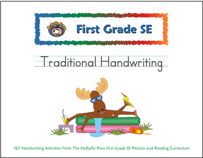 First Grade SE Traditional Handwriting Book - McRuffy Press