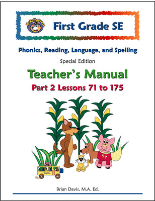 First Grade SE Phonics and Reading Teacher's Manual Part 2 - McRuffy Press