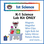 First Grade Science Lab Kit (Same as Kindergarten Kit) - McRuffy Press