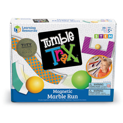 Tumble Trax Magnetic Marble Run - McRuffy Press