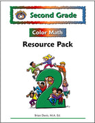Second Grade Color Math Resource Pack - McRuffy Press