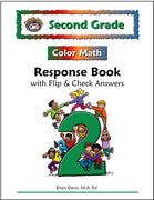 Second Grade Color Math Response Book - McRuffy Press