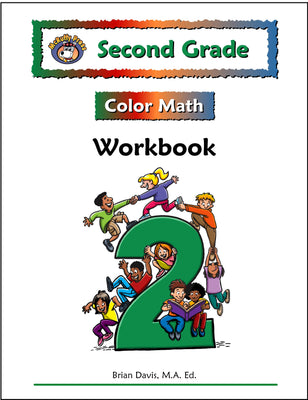 Second Grade Color Math Workbook - McRuffy Press