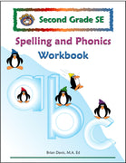 Second Grade SE Spelling and Phonics Workbook - McRuffy Press
