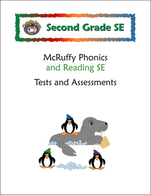 Second Grade SE Tests and Assessments Pack - McRuffy Press