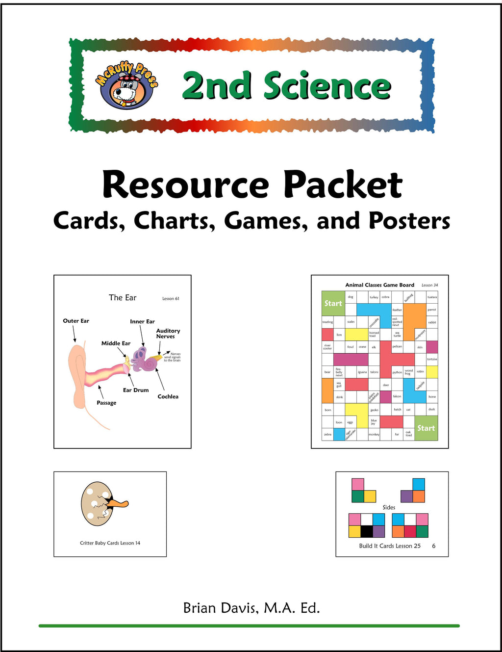 Second Grade Science Resource Pack - McRuffy Press