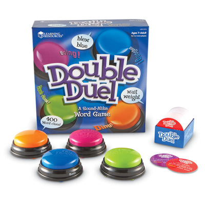 Double Duel Sound-Alike Word Game - McRuffy Press