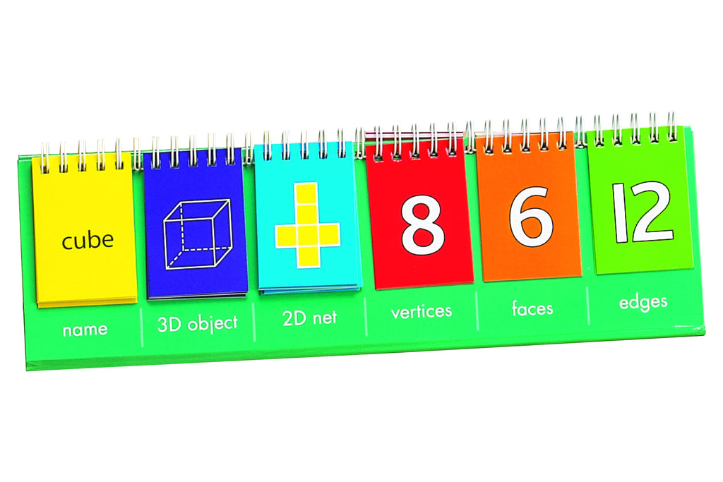 3D Geoshape Flip Chart - McRuffy Press