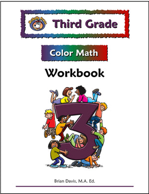 Third Grade Color Math Workbook - McRuffy Press