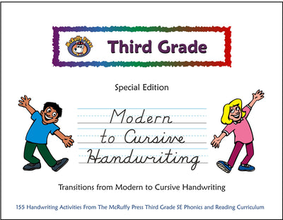 Third Grade SE Handwriting Modern to Cursive - McRuffy Press