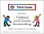 Third Grade SE Handwriting Traditional to Cursive - McRuffy Press