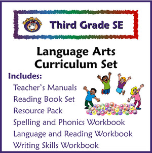 Third Grade Language Arts Curriculum (Public School Version) - McRuffy Press