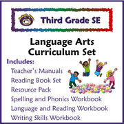 Third Grade Language Arts Curriculum (Christian Version) - McRuffy Press