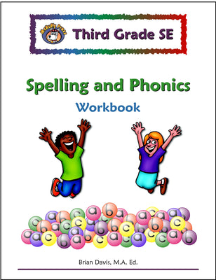 Third Grade Spelling and Phonics Workbook - McRuffy Press