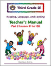 Third Grade Language Arts Teacher's Manual Part 2 - McRuffy Press