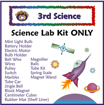 Third Grade Science Lab Kit - McRuffy Press