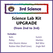 Third Grade Science Upgrade Lab Kit from 2 to 3 - McRuffy Press