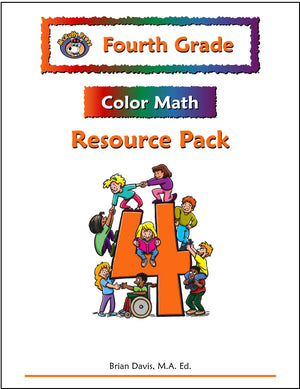 Fourth Grade Color Math Resource Pack - McRuffy Press